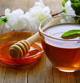health benefits of green tea and honey