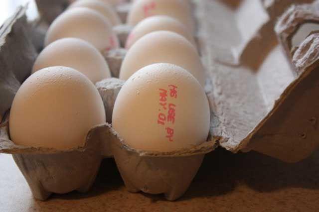 Eggs expiration date