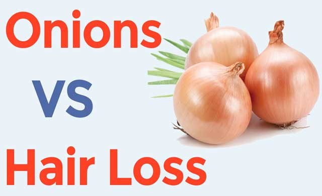 health benefits of onion for hair