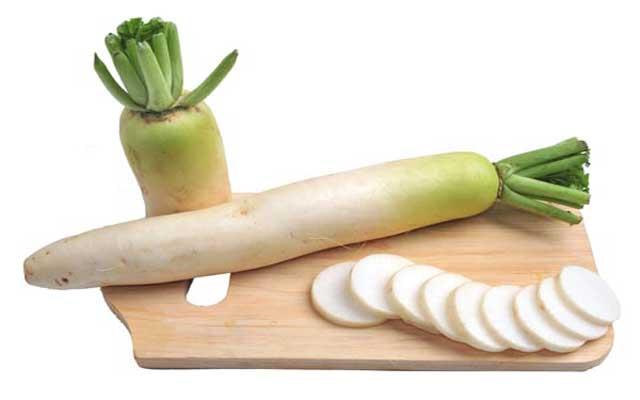 white radish benefits for health