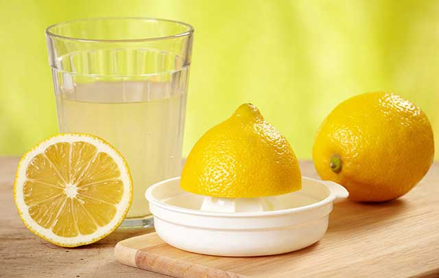 lemon-juice, healthy drinks for heart health
