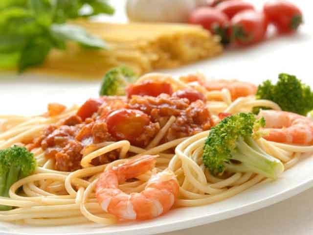 pasta mix,