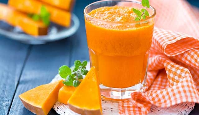 health benefits of pumpkin juice