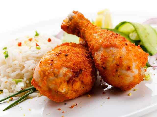 Food Containing Poisons cooked chicken
