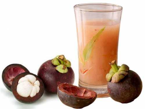Benefits of Mangosteen Peel Juice for health