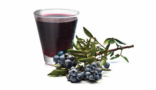 health benefits of blueberry juice