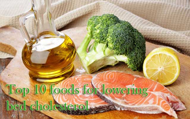 foods for lowering bad cholesterol