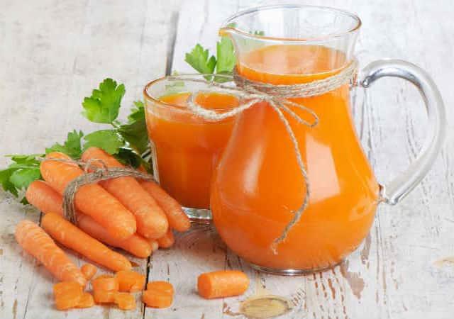 alkaline foods carrots