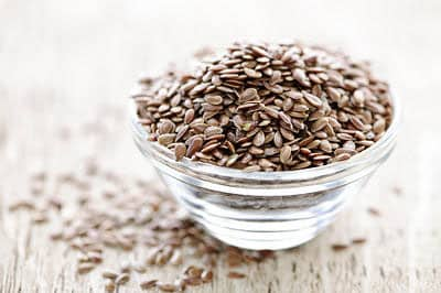 flaxseeds is one of superfoods to build your muscles