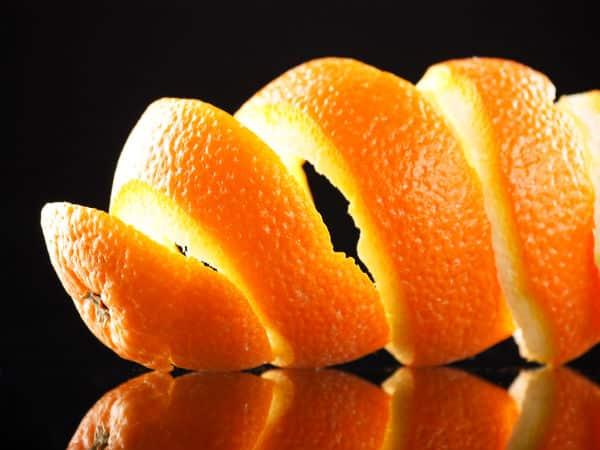 orange peel for treating acne