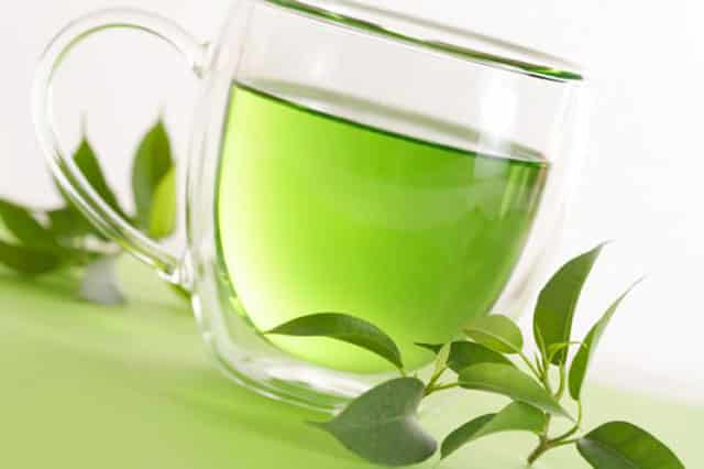 Caffeine free green tea benefits