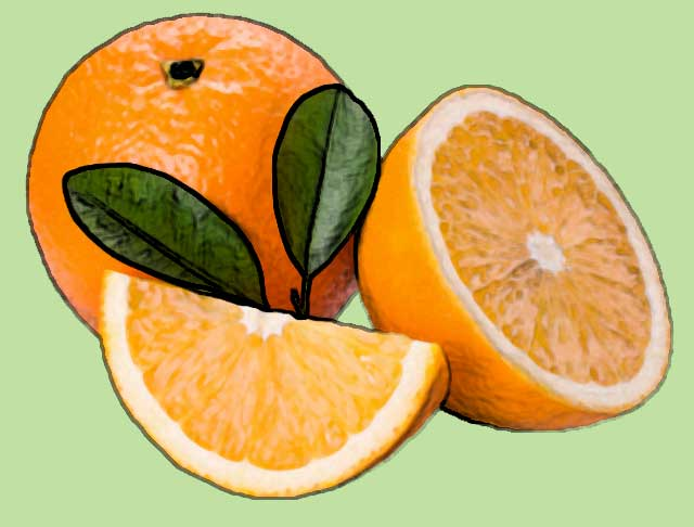 orange foods rich in vitamin c
