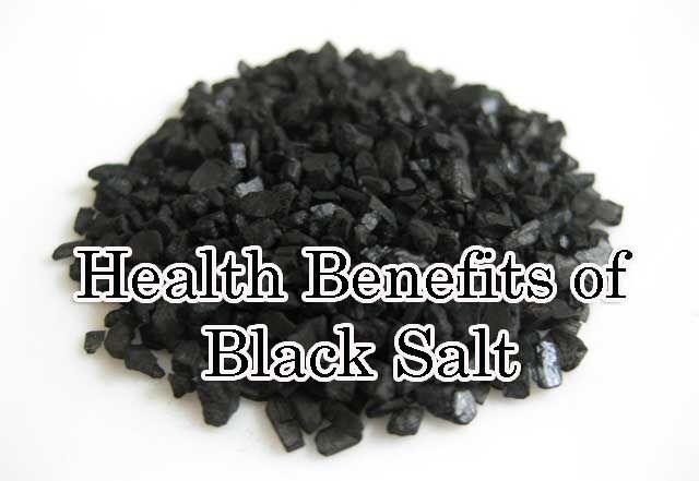health benefits of black salt