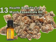 health benefits of myrrh essential oil