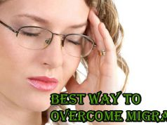 best way to overcome migraines