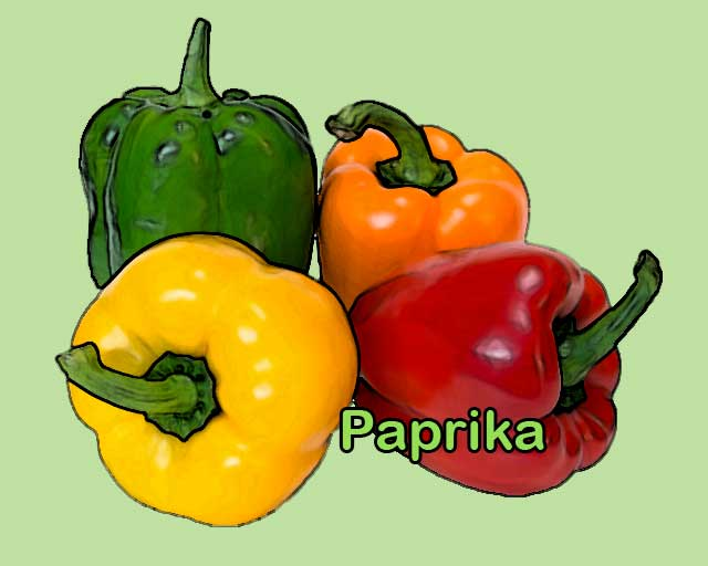 paprika is foods rich in vitamin c