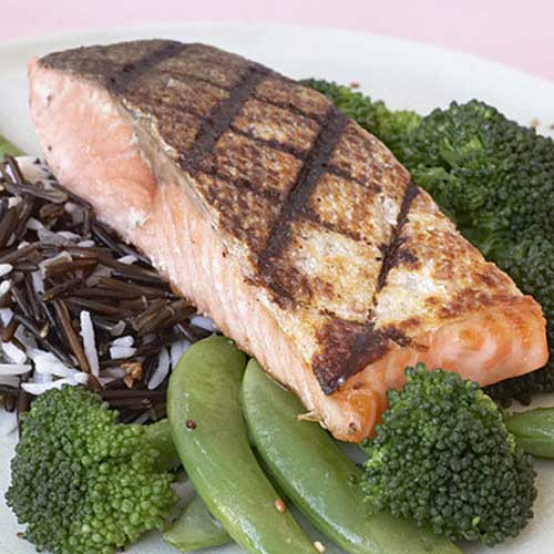 salmon is superfoods for weight loss