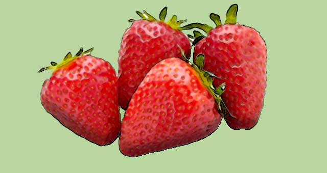 strawberry foods rich in vitamin c