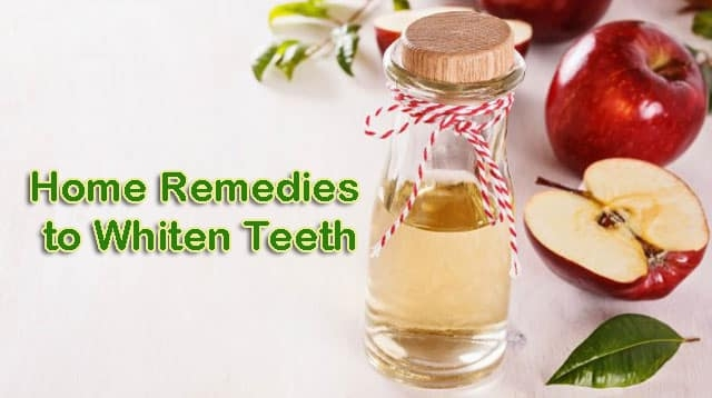home remedies to whiten Teeth