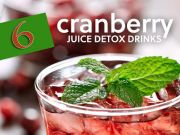 Cranberry Juice Detox Recipes