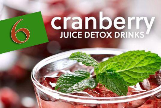 Cranberry Juice Detox Recipes