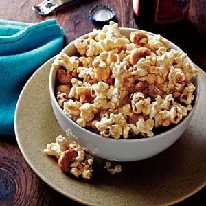 Spicy Maple Cashew Popcorn