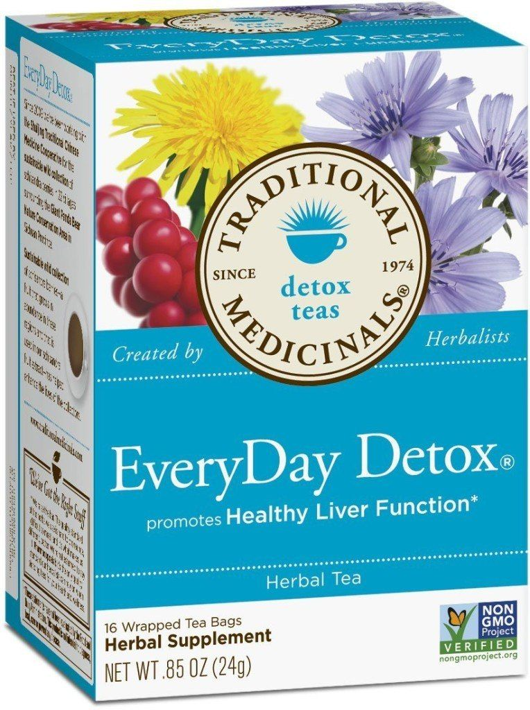 Traditional Medicinals EveryDay Tea Detox