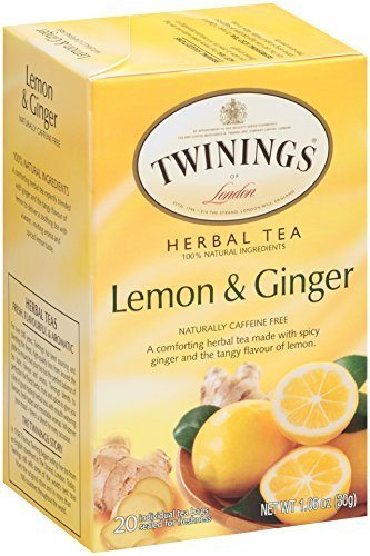 Twining's Lemon and Ginger tea detox