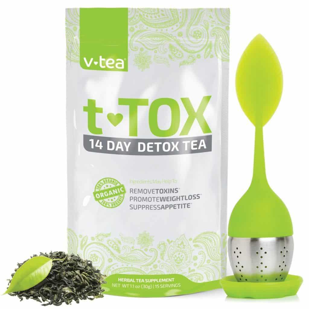 Tea Detox, v-tea Teatox 14 Day Detox
