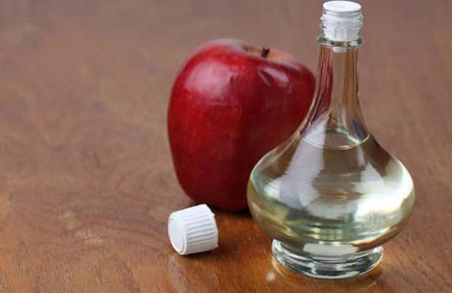 Egg White With Apple Cider Vinegar to firm skin