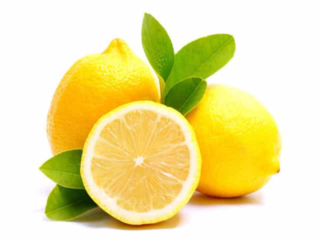 lemon as fat-burning drinks