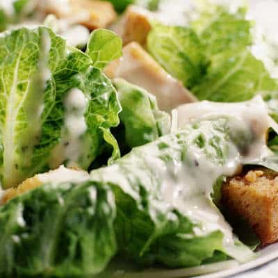 Caesar dressing dangerous foods in summer