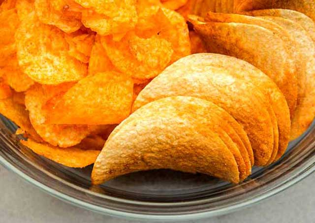 High Salted Foods