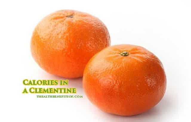 calories in a clementine