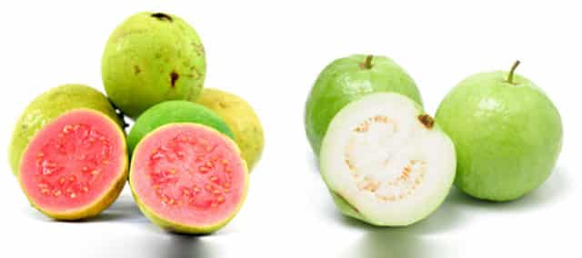 how to eat white and red guava, guava seed