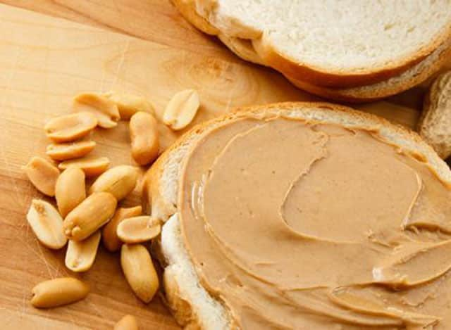 Peanut butter cause constipation, eat with bread
