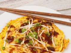 Egg Foo Young low carb chinese food