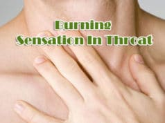 Burning Sensation In Throat