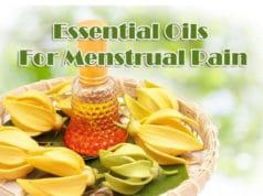 Essential Oils For Menstrual Pain