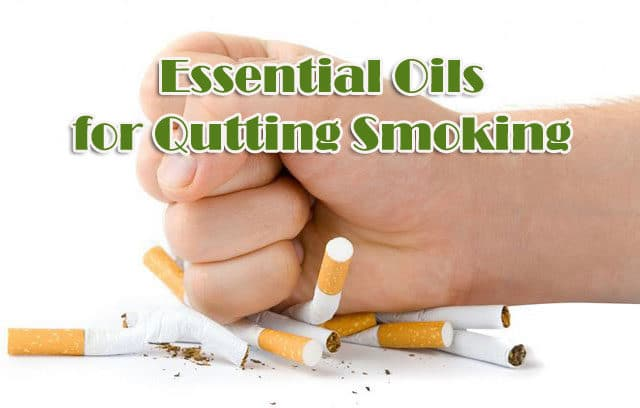 Essential Oils For Quitting Smoking