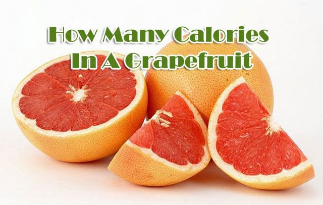 How Many Calories In A Grapefruit