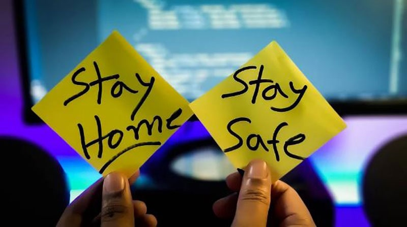 stay home during isolation period