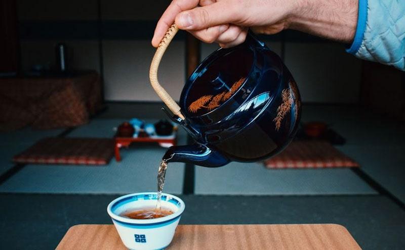 The Famous Milk Tea in Japan